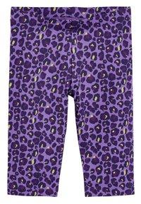 Next - WHITE CROPPED LEGGINGS (3-16YRS) - Leggings - Trousers - purple - 0