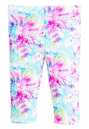 WHITE CROPPED LEGGINGS (3-16YRS) - Leggings - Trousers - pink