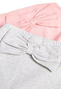 Next - PINK/GREY 2 PACK BOW LEGGINGS (0MTHS-3YRS) - Leggings - Trousers - pink - 4