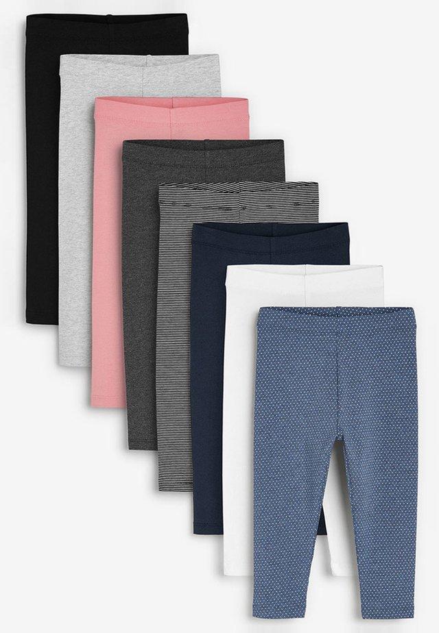 8 PACK LEGGINGS (3MTHS-7YRS) - Leggings - Trousers - black