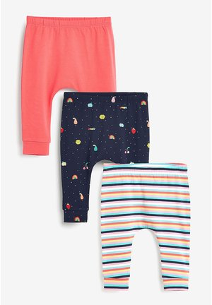 3 PACK BRIGHT LEGGINGS (0MTHS-2YRS) - Legging - blue