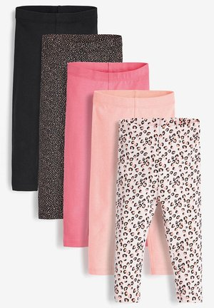 5 PACK LEGGINGS (3MTHS-8YRS) - Leggings - Trousers - pink