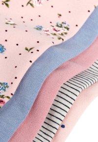 Next - PINK/BLUE 5 PACK PRETTY LEGGINGS (3MTHS-7YRS) - Leggings - pink - 7