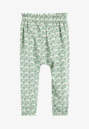 PINK/RUST VISCOSE TROUSERS (3MTHS-10YRS) - Broek - green