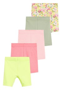 Next - MULTI 5 PACK SHORTS (3MTHS-7YRS) - Leggings - Trousers - pink - 0