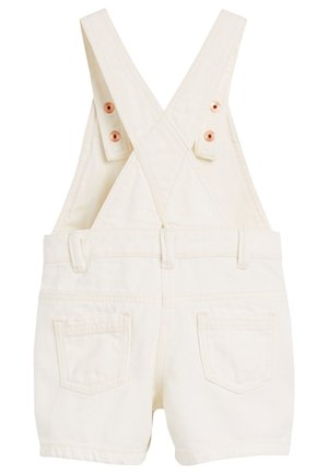 PINK SHORTIE DUNGAREES (3MTHS-7YRS) - Dungarees - off-white