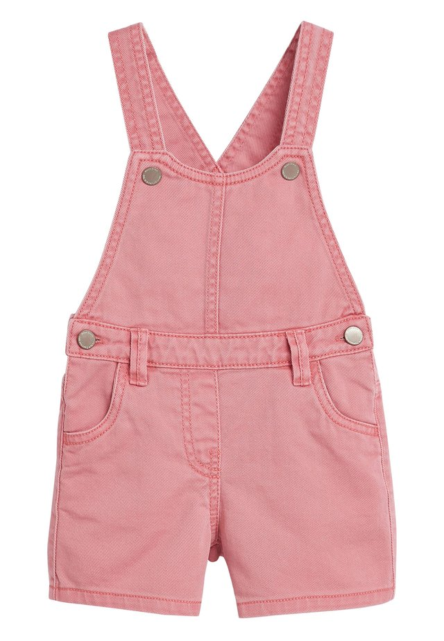 PINK SHORTIE DUNGAREES (3MTHS-7YRS) - Dungarees - pink