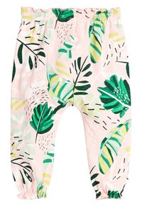 Next - PALM PRINT - Tracksuit bottoms - pink