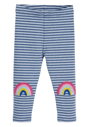 BLUE RAINBOW KNEE LEGGINGS (3MTHS-7YRS) - Leggingsit - blue