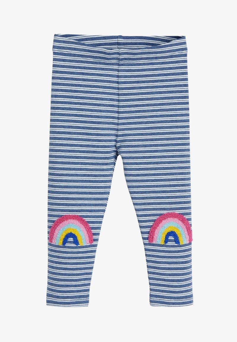 Next - BLUE RAINBOW KNEE LEGGINGS (3MTHS-7YRS) - Leggings - Trousers - blue