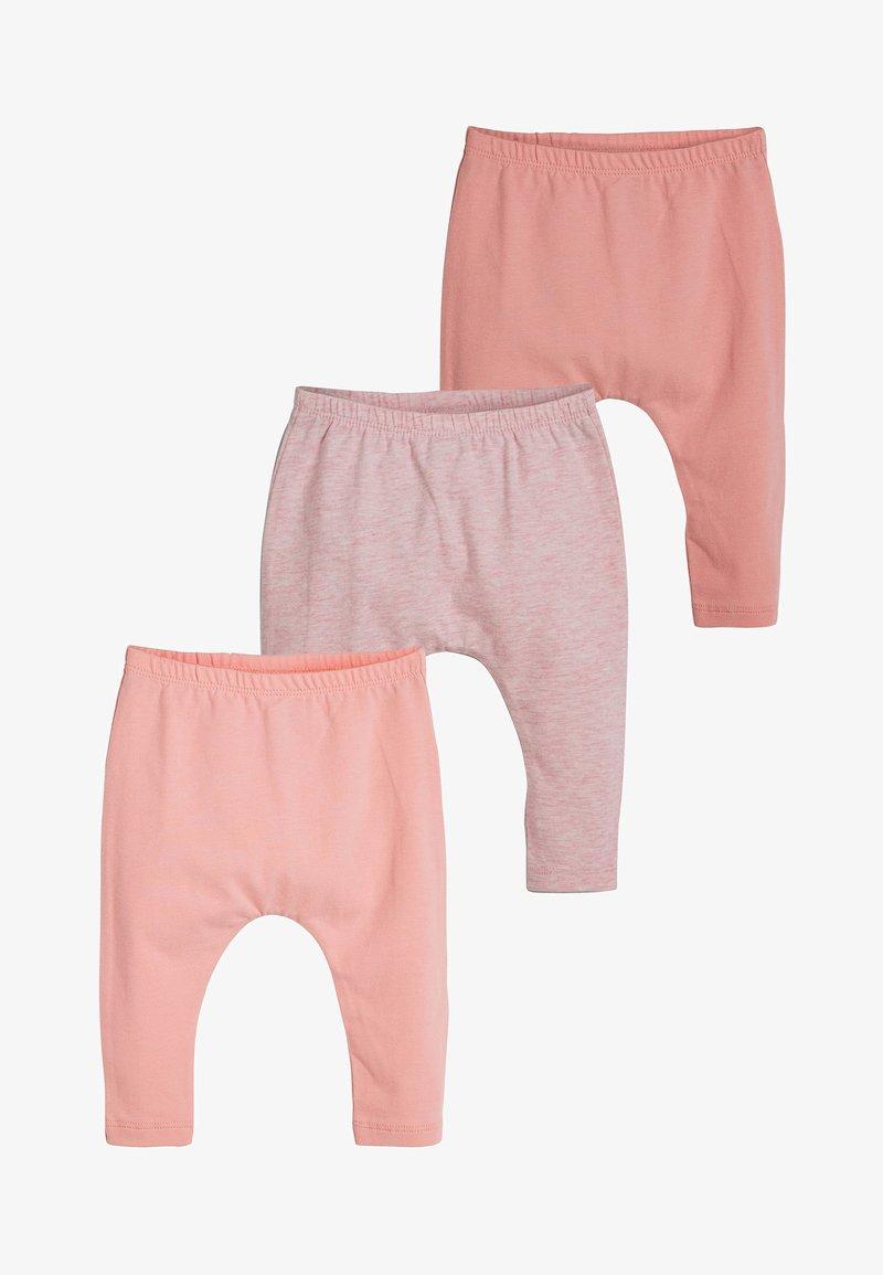 Next - PINK 3 PACK LEGGINGS (0MTHS-3YRS) - Leggings - Trousers - pink
