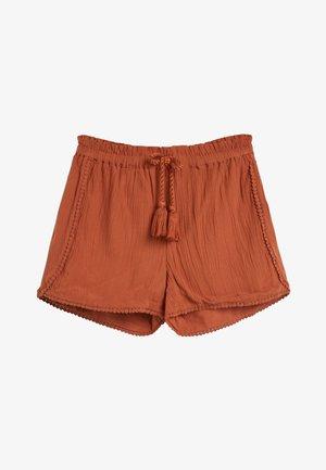 BLACK TRIM DETAIL SHORTS (3-16YRS) - Shorts - red