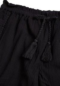 Next - BLACK TRIM DETAIL SHORTS (3-16YRS) - Shorts - black - 2