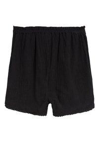 Next - BLACK TRIM DETAIL SHORTS (3-16YRS) - Shorts - black - 1