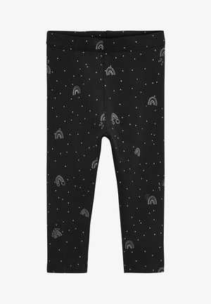 MONOCHROME 5 PACK LEGGINGS (3MTHS-7YRS) - Leggings - Trousers - black