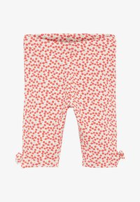 Next - CHERRY ALL OVER PRINT 5 PACK BOW CROPPED LEGGINGS (3MTHS-7YRS) - Leggings - Trousers - red - 1