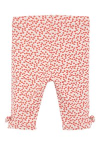 Next - CHERRY ALL OVER PRINT 5 PACK BOW CROPPED LEGGINGS (3MTHS-7YRS) - Leggings - Trousers - red - 2