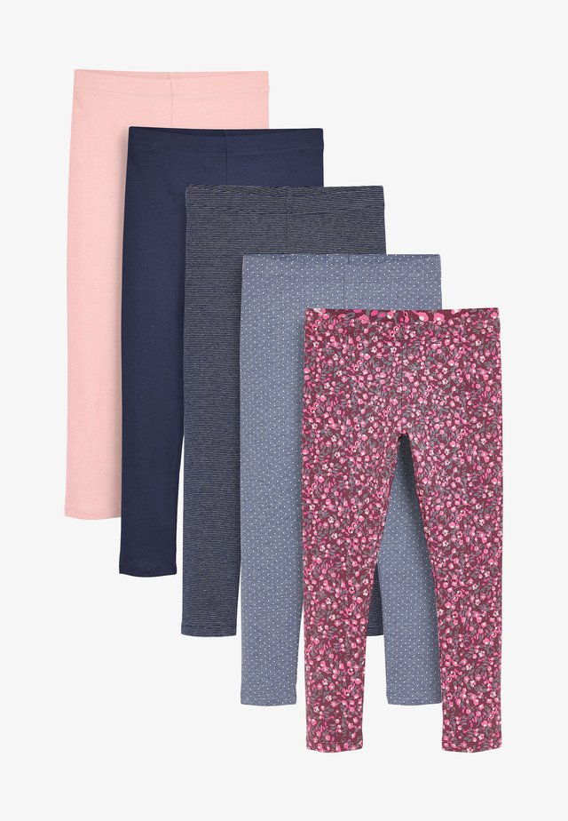 5 PACK - Leggings - Trousers - red