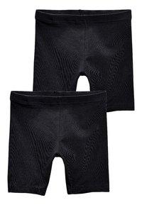 Next - 2 PACK - Shorts - black - 0