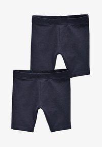 Next - 2 PACK - Shorts - blue - 0