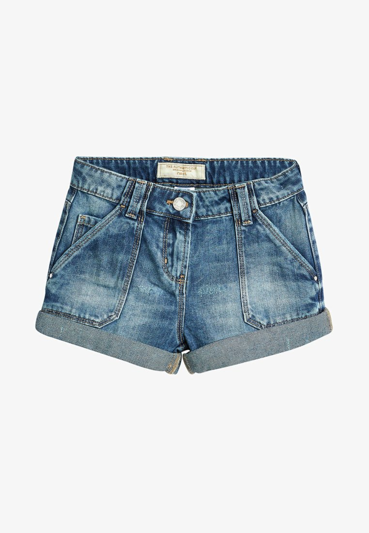 Next - TURN-UP - Shorts di jeans - blue