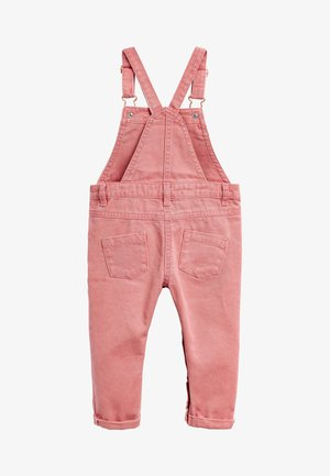 CHARCOAL PRINTED DUNGAREES (3MTHS-7YRS) - Overall /Buksedragter - pink