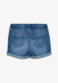 Next - DENIM BLUE PULL-ON SHORTS (3MTHS-10YRS) - Denim shorts - blue - 1