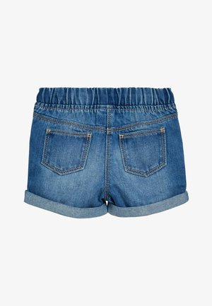 DENIM BLUE PULL-ON SHORTS (3MTHS-10YRS) - Džínové kraťasy - blue