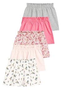 Next - PINK 5 PACK SHORTS (3MTHS-7YRS) - Shorts - pink - 0