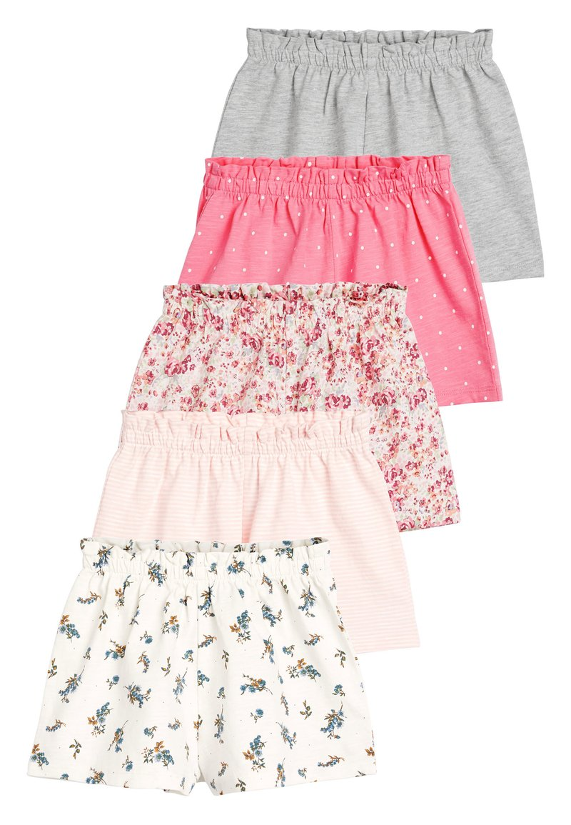 Next - PINK 5 PACK SHORTS (3MTHS-7YRS) - Shorts - pink