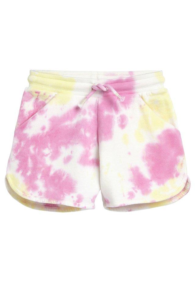 YELLOW JERSEY SHORTS (3-16YRS) - Shorts - pink