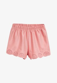 Next - MULTI 3 PACK JERSEY BRODERIE SHORTS (3MTHS-8YRS) - Shorts - pink - 1