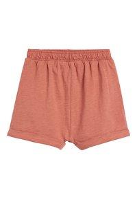 Next - RUST/PEACH 5 PACK BOXY SHORTS (3MTHS-8YRS) - Shorts - brown - 6