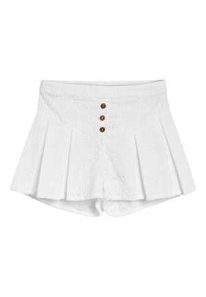 WHITE BRODERIE SHORTS (3MTHS-7YRS) - Shorts - white