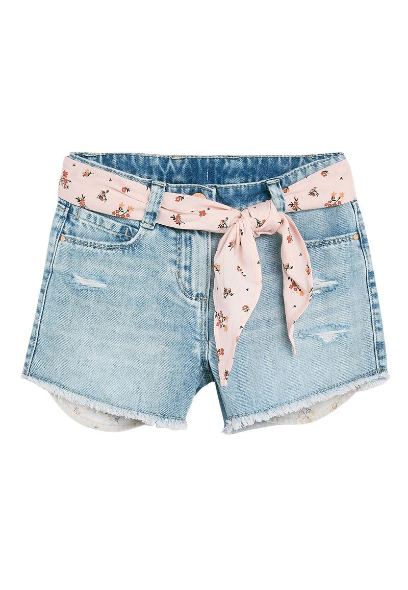 Next - Denim shorts - light blue