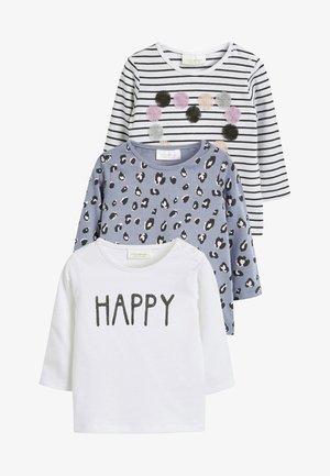 3 PACK - T-shirt med print - purple