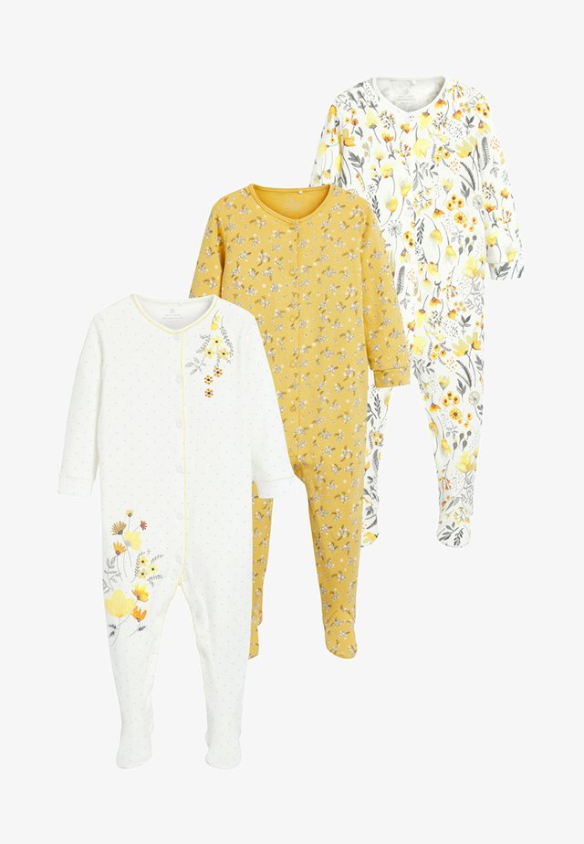 3 PACK - Pijama - yellow