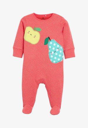 CORAL 3 PACK FRUIT SLEEPSUITS (0MTHS-2YRS) - Pyjama - orange