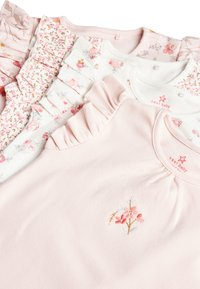 Next - PINK 4 PACK FLORAL ROMPERS (0MTHS-3YRS) - Jumpsuit - pink - 6