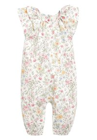 Next - ECRU/PINK FLORAL PRINT ROMPER (0MTHS-2YRS) - Jumpsuit - off-white - 0