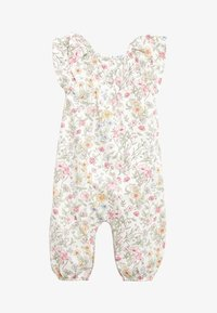 Next - ECRU/PINK FLORAL PRINT ROMPER (0MTHS-2YRS) - Jumpsuit - off-white - 1