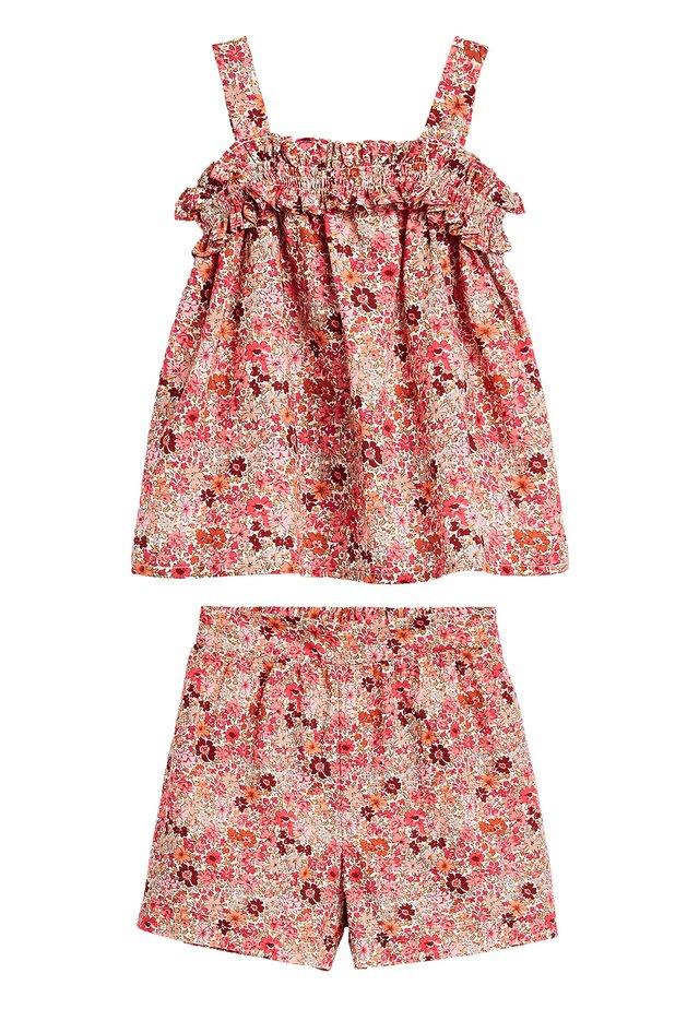 PINK CO-ORD SET (3MTHS-7YRS) - Shorts - pink