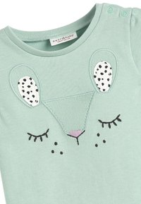 Next - TEAL CHARACTER T-SHIRT AND LEGGINGS SET (0MTHS-2YRS) - Leggings - Trousers - green - 5