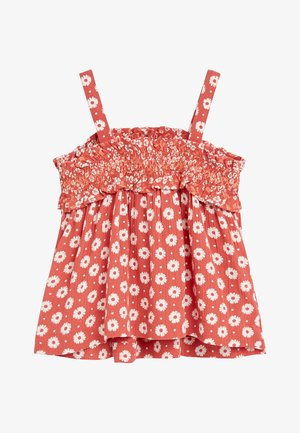 RUST CO-ORD SET (3MTHS-7YRS) - Trousers - red
