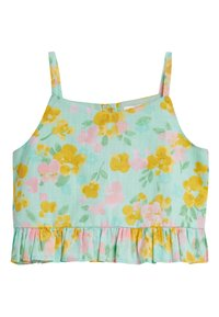 Next - AQUA CO-ORD SET (3-16YRS) - A-line skirt - green - 3