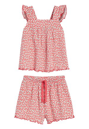 ALL OVER PRINT TOP AND SHORTS SET (3MTHS-7YRS) - Shorts - white