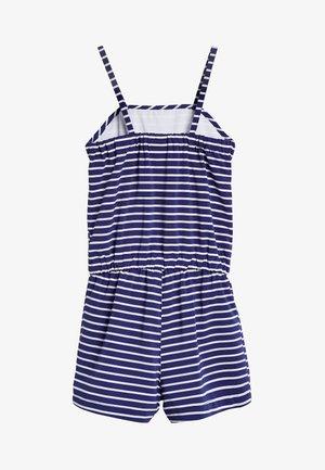Jumpsuit - mottled blue
