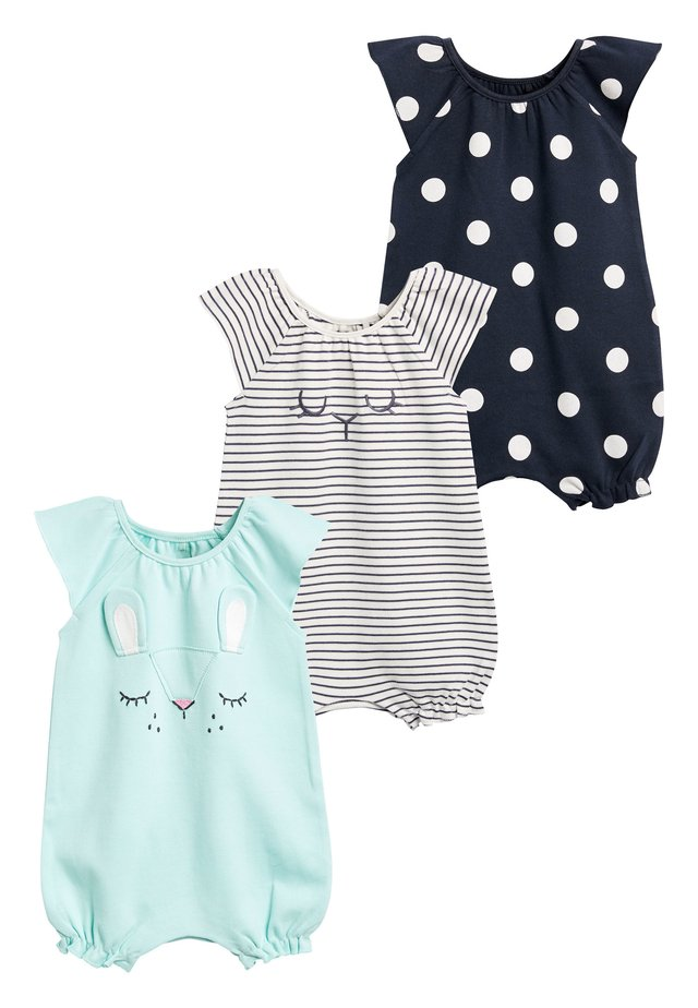 MINT 3 PACK CHARACTER ROMPERS (0MTHS-3YRS) - Overal - blue