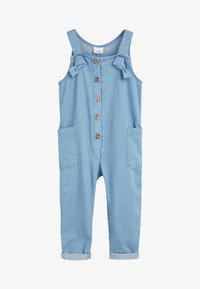 Next - DENIM BLUE JUMPSUIT WITH HEADBAND (3MTHS-7YRS) - Jumpsuit - blue - 1