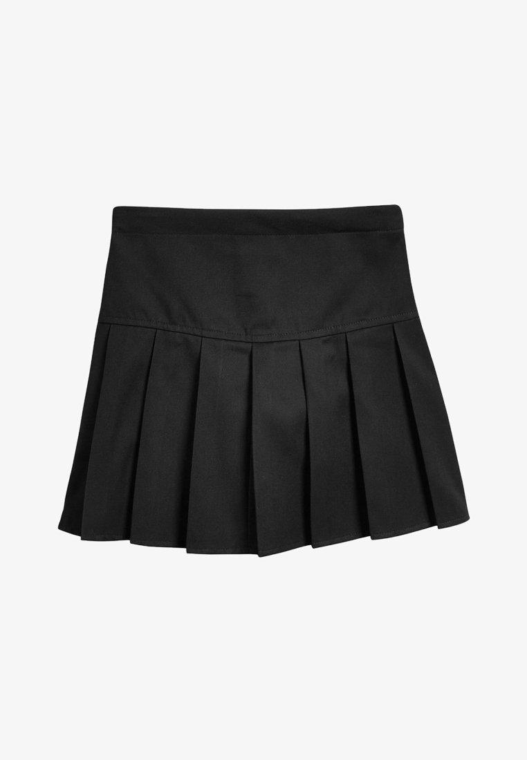 Next - Pliceret nederdel /Nederdele med folder - black